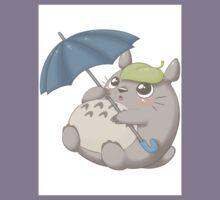 Rainy Day Totoro Kids Tee