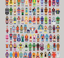 8-bit Masters expanded set by Brad linf