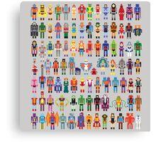 8-bit Masters expanded set Canvas Print