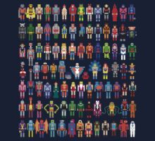 8-bit Masters expanded set One Piece - Long Sleeve