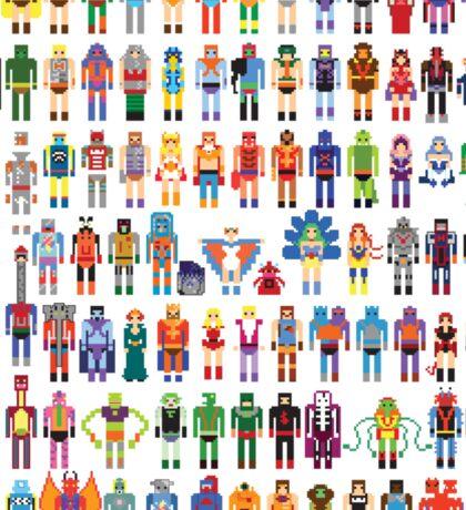 8-bit Masters expanded set Sticker
