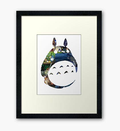 TOTORO Film Art Framed Print