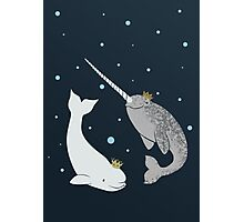 Prince and Princess of Whales Photographic Print