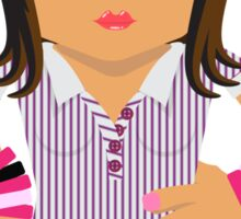 Ja'mie #5 (Private School Girl)  Sticker