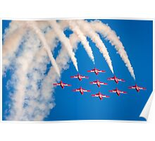 Canadian Snowbirds Jets Poster