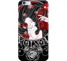 Poison - Black Rose Full Illustration iPhone Case/Skin