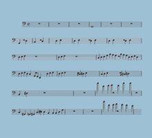 Voltron Sheet Music One Piece - Short Sleeve