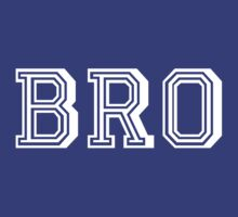 BRO Shirt n Sticker [White] | FreshThreadShop.com by FreshThreadShop
