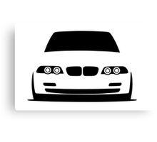 BMW E46 3 Series Canvas Print