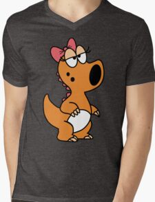 Birdo Mens V-Neck T-Shirt