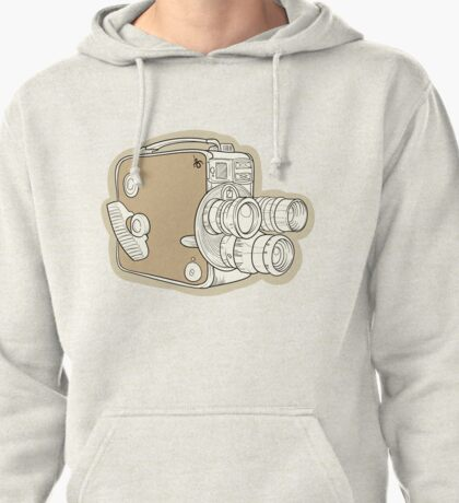Vintage Camera Pullover Hoodie