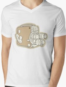 Vintage Camera Mens V-Neck T-Shirt
