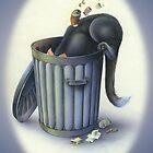 Boris in the Bin by Carol McLean-Carr
