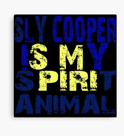 Sly Cooper Canvas Print