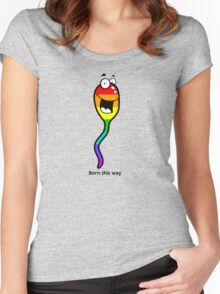 Born This Way Women's Fitted Scoop T-Shirt