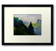 Quill Lake Framed Print
