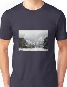 Rocky Mountain Cabin Unisex T-Shirt
