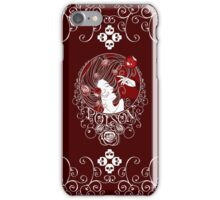 Poison - Blood Rose on Red iPhone Case/Skin