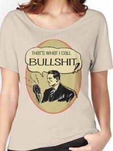 old timey bullshit Women's Relaxed Fit T-Shirt