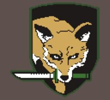 Metal Gear Solid - Foxhound Unit 8-Bit by QuestionSleepZz