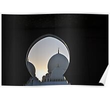 Sheikh Zayed Grand Mosque 2 Poster