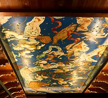 Ceiling at Casa de Colon by Ren Provo