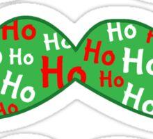 Merry 'Stache Mas  Sticker