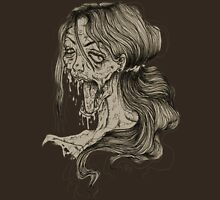 Shut Your Mouth Zombie (Tan) Unisex T-Shirt