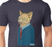 suited cat. (ginger) Unisex T-Shirt
