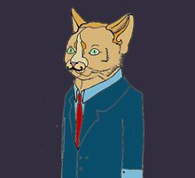 suited cat. (ginger) Unisex T-Shirt
