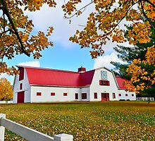 Allandale Mansion Barn, Fall 2013 by A Different Eye Photography