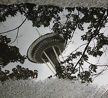 Seattle Space Needle, 2011 by Elizabeth Jolly
