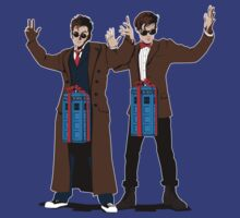 Doc In A Box: Tardis Lovers by Crocktees