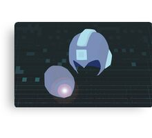 Megaman Weapons Canvas Print