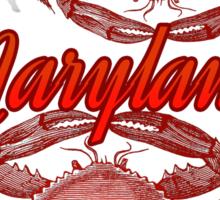 Maryland. Sticker