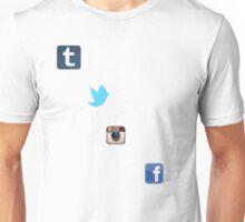 the social media ladder Unisex T-Shirt
