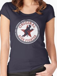 Starfighter Original Women's Fitted Scoop T-Shirt