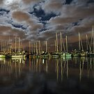 Wrest Point Marina - Hobart by Paul Campbell  Photography