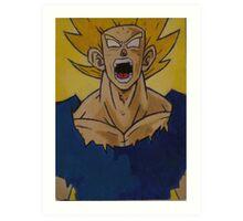 Goku Super Saiyan  Art Print