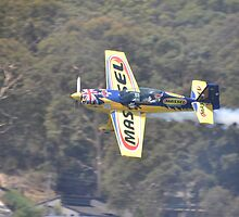 Matt Hall Aerobatics @ Catalina Festival, Australia 2013 by muz2142