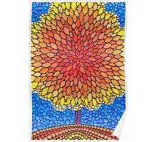 Sweet Little Autumn Tree Poster