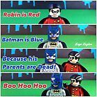 Batman is Blue by LegoLegion
