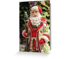 Old Fashioned Santa Claus Greeting Card
