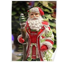 Old Fashioned Santa Claus Poster
