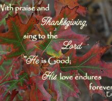 With Praise & Thanksgiving by paws4critters