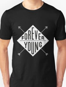 Forever Young - White T-Shirt