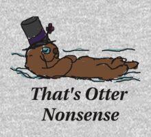 Otter Nonsense One Piece - Long Sleeve