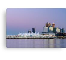 Vancouver's Canada Place After Sunset Canvas Print