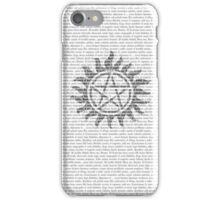 Supernatural iPhone (Tattoo & Exorcism) iPhone Case/Skin