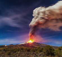 Mount Etna by Mirko Chessari
